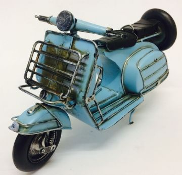 Iconic Lambretta Vespa SCOOTER BLUE Model 30cm